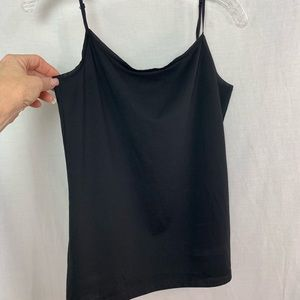 Ann Taylor NWOT Simple Stretch Cami Black Medium